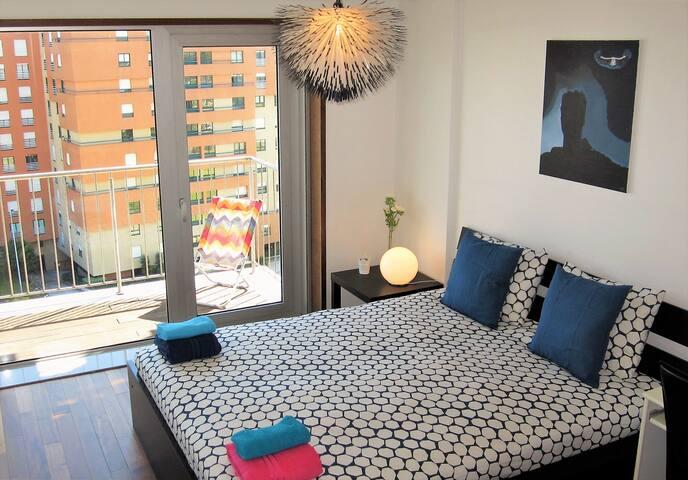 Luxury 2 + Pool + Sauna + Jacuzzi + Spa + Ginásio -  Vila Nova de Gaia  - Apartament