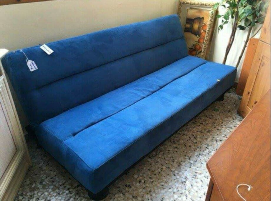 blue sofa beds