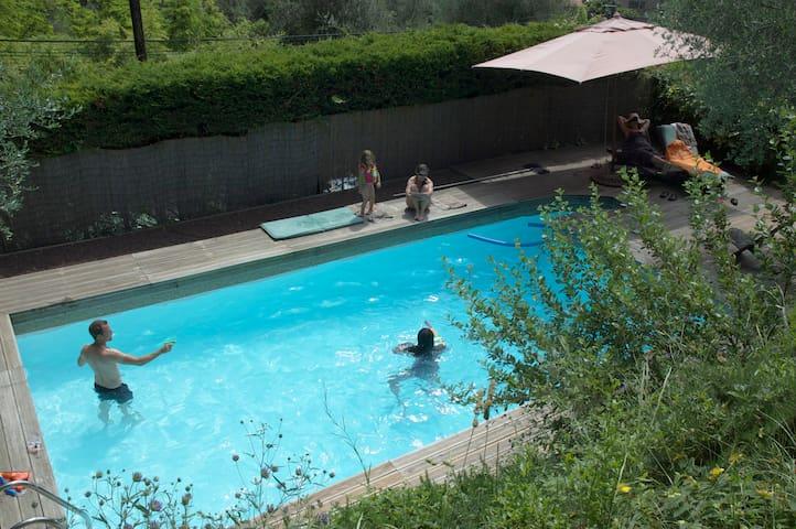 Maison sous oliviers avec piscine - Tourrettes-sur-Loup