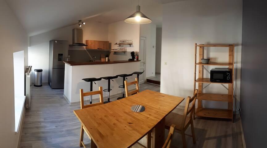 Appart T3 80m², au cœur du centre ville d'Aubenas - Aubenas - Apartamento