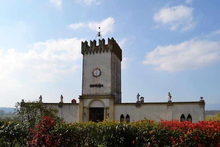 Charming tower of the 18th century - Cerreto Guidi - Casa
