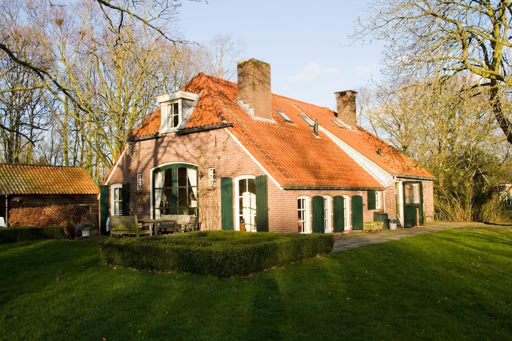 Familie boerderij in achterhoek huizen te huur in laren for Boerderij achterhoek te koop