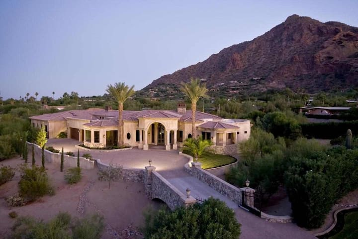 Camelback Mountain Mansion in Paradise Valley, AZ