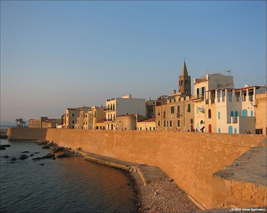 Alghero i Bastioni
