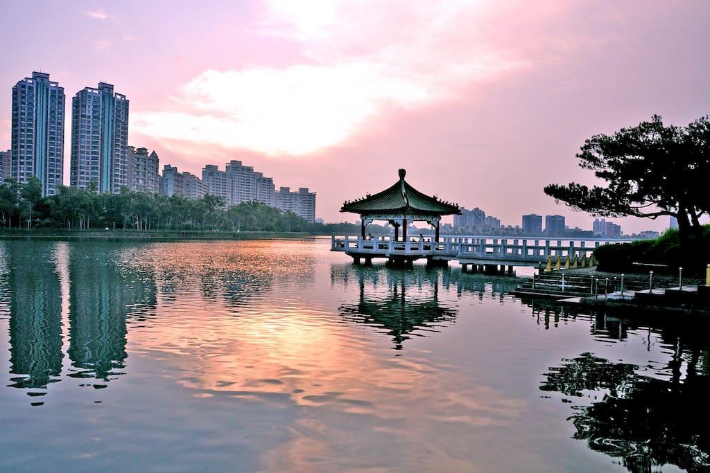 澄清湖美景