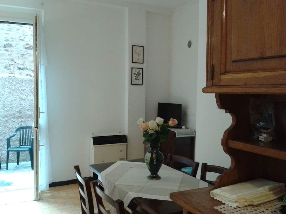 The apartment is cosy and comfortable, the ideal base for Your stay in Monterosso