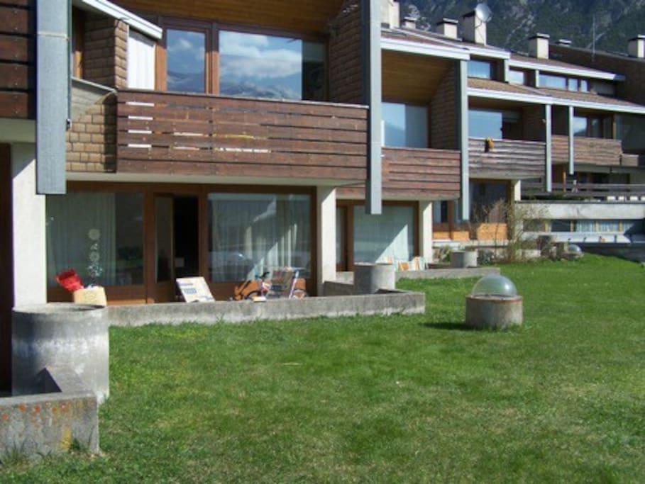 terrazza  e giardino estivo