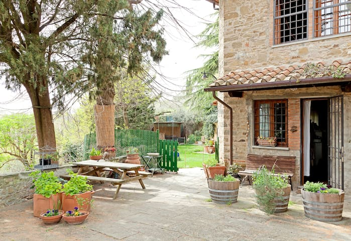 Charming Stone House in Chianti  - San Casciano in Val di Pesa, Firenze - Lejlighed