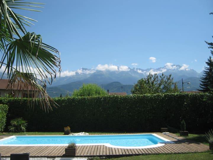 Magnifique maison 9P 200 m² piscine privée