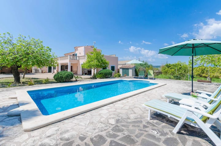 YourHouse Sa Fonera - villa with private pool, bbq and terrace for 4 people