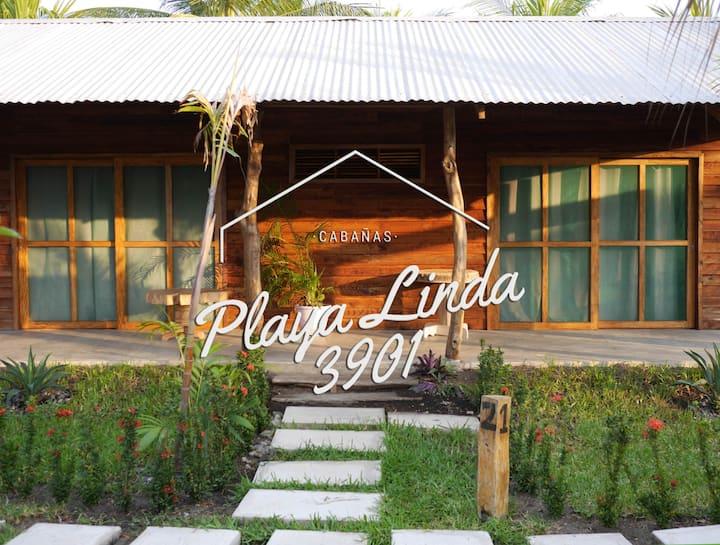 Playa Linda 3901  Cabañas 2 cuartos