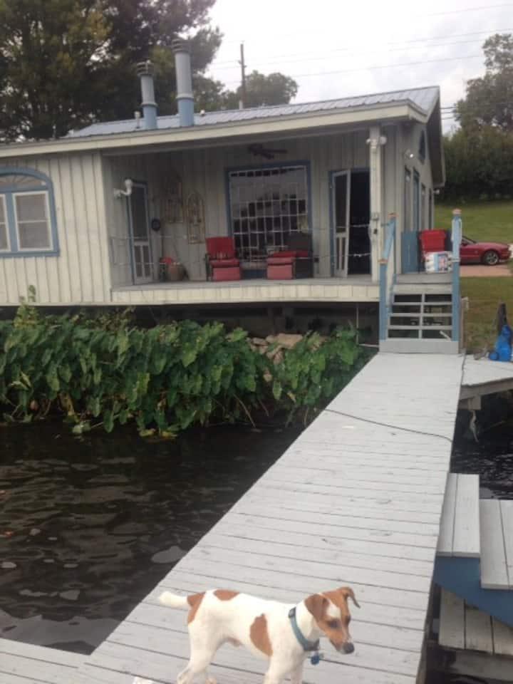 Cabin on False River