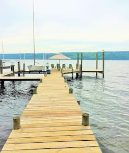 Lake Cottage/Pvt Beach/Dock/Kayaks - Rock Stream