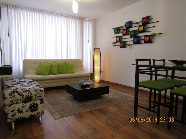 Apartaestudio en San Luis - Chapinero 4 personas