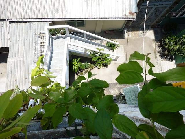 Colonial Apt w/Private rooftop secrect garden, D3 - Ho Chi Minh City - Leilighet