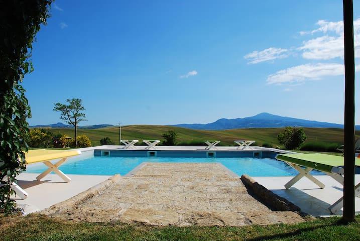 Casanova-Val D'Orcia-Tuscany - เปียนซา - วิลล่า