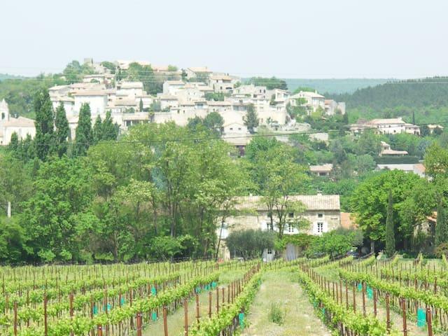 La maison au bout des vignes