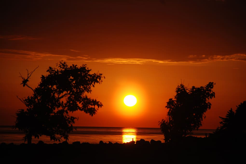 Sunset in Vilshärad