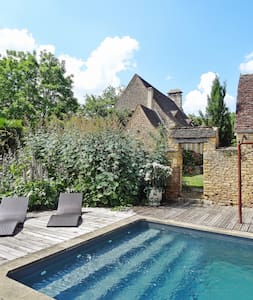 Charming house w/ swimming pool - Saint-Amand-de-Coly - 단독주택