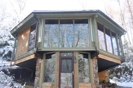 Octogonal Treehouse in Berkshires - Otis - Treehouse - 1