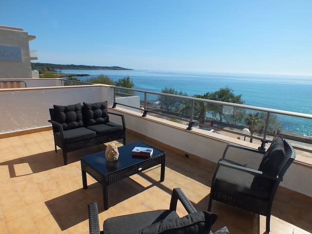 2 rooms with sea view, 201 S'Illot - S'Illot - Lejlighed