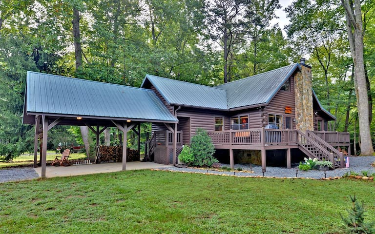 Waterfront Cabin: Trout Run Cabin - Blue Ridge - Cabin