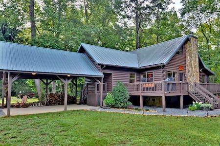 Waterfront Cabin: Trout Run Cabin - Blue Ridge - Cottage