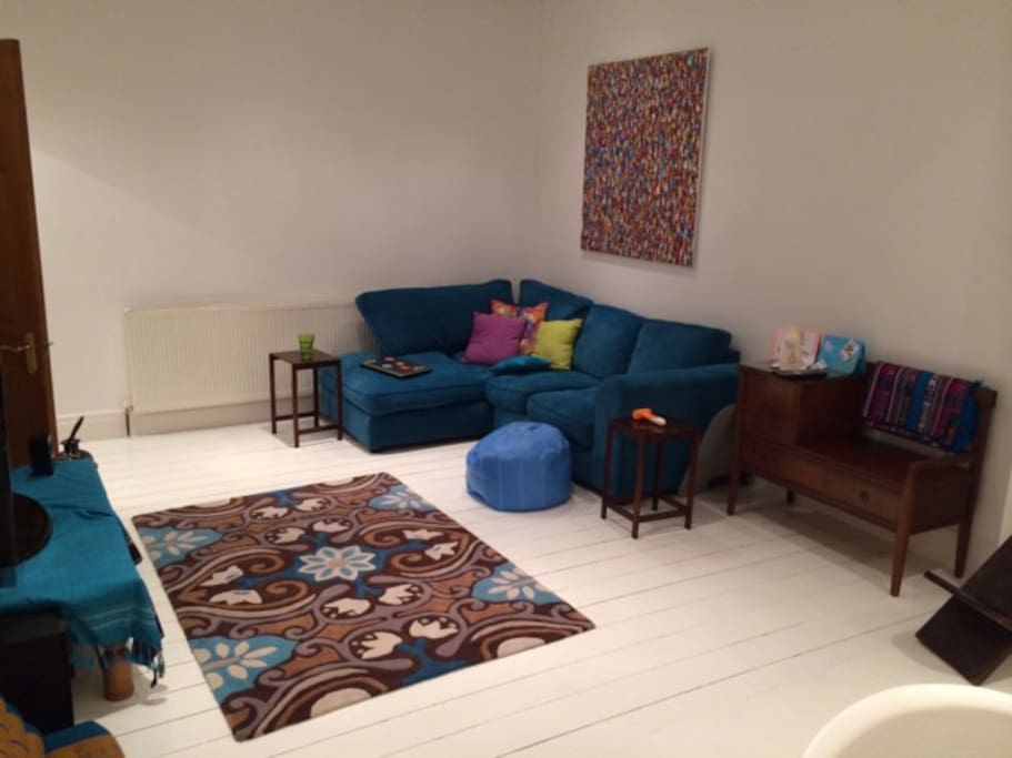 Lounge 1, with TV/DVD, wireless sound system