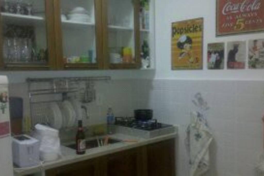 cozinha toda montada