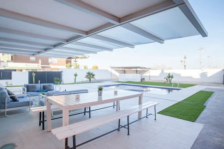 Luxury Villa pool near Valencia +16 - La Pobla de Farnals - 別荘