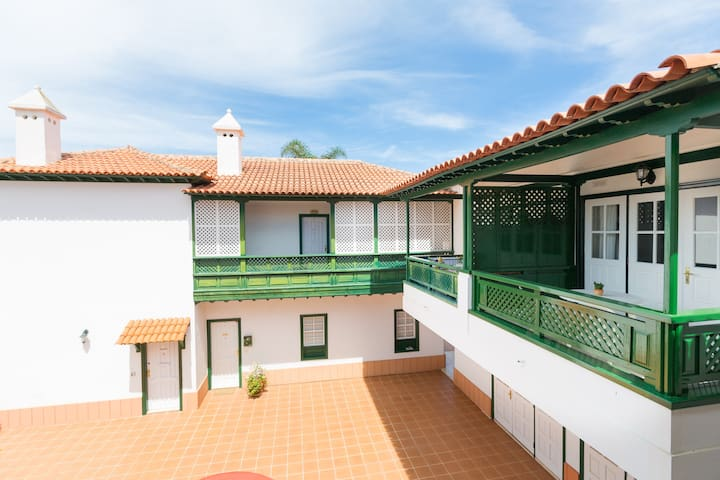 Luxury aprt for 2 in typical canary house - Puerto de la Cruz - Appartement
