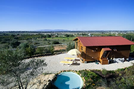 Cosy wooden chalet in the Algarve - Lagoa