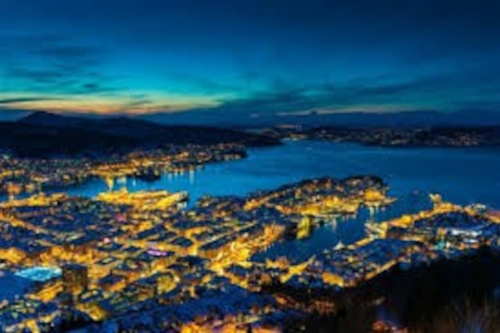 Come and stay central in wonderful  Bergen City