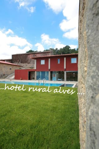 Quarto Duplo - Hotel Rural Alves - Braga - Bed & Breakfast