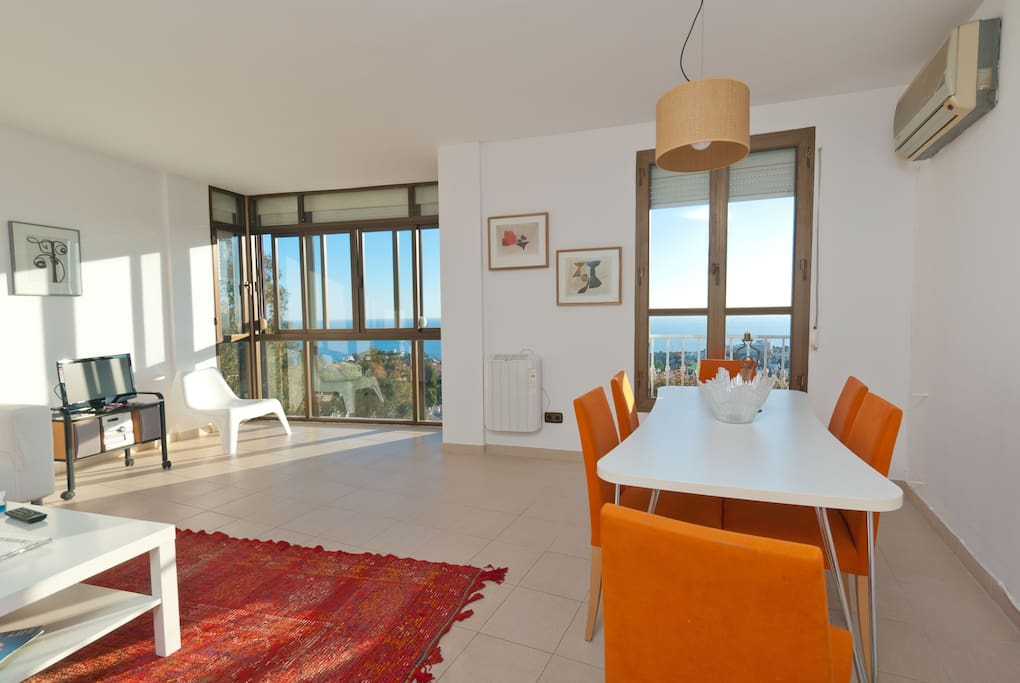 M laga entire home apt 3 beds 4 guestsmalaga with a for Beds 4 u malaga