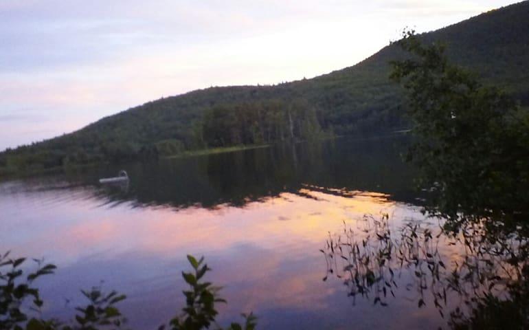 Beautiful mountain & waterview