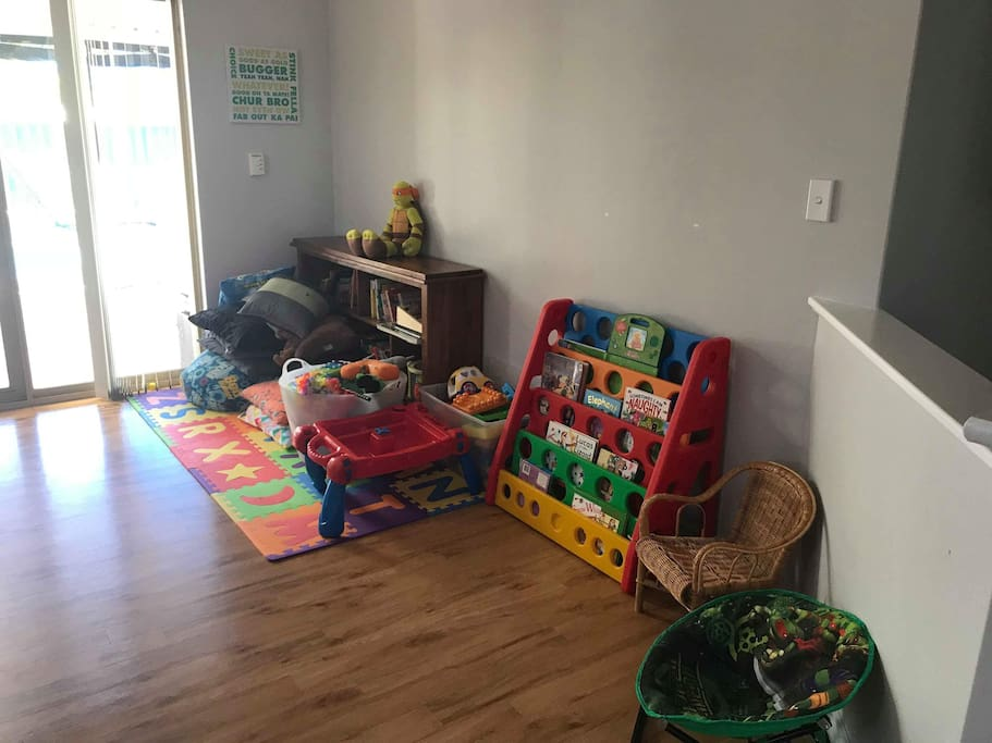 indoor kids play room