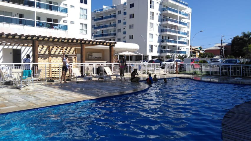 Sunny apartment in front of Costa Azul beach