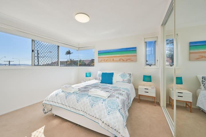 Main bedroom.  Beach views.