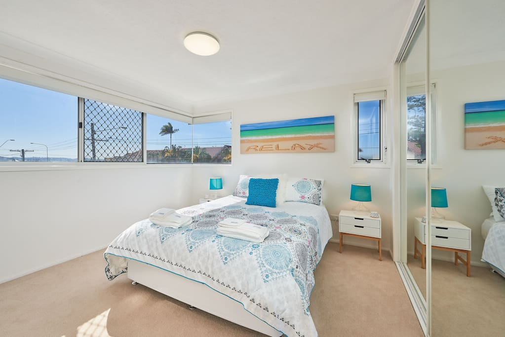 Main bedroom.  Beach views.
