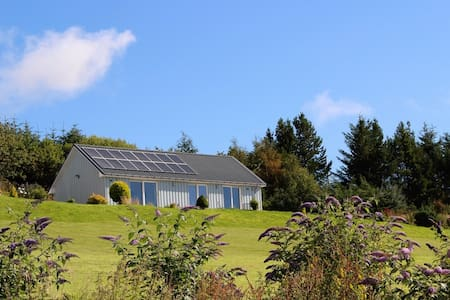 Druim Buidhe - panoramic hill retreat with hot tub