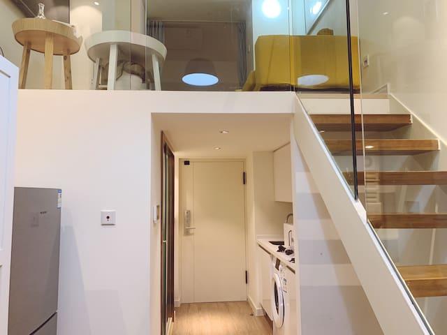 【Dreamy Home】温馨一居室Loft户型~首都机场附近~步行可至15号线南法信站