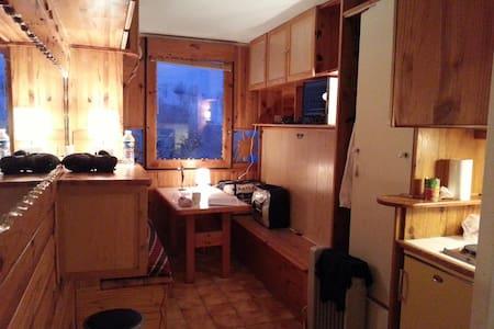 Studio indépendant à la montagne - Villarembert - Квартира