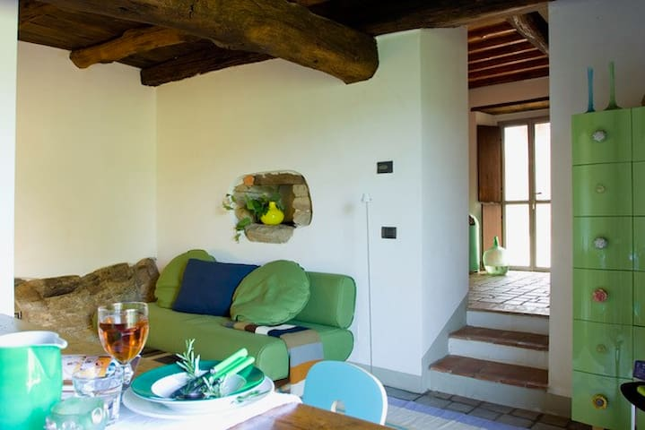 Podere Villole Toskana Chianti Apartment Firenze - Moncioni - Apartament