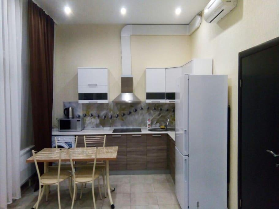 гостиная-студия