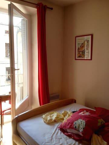 Première chambre lit double