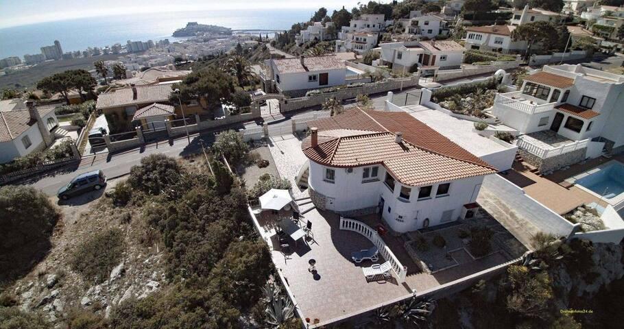 Ferienaus mit tollem Panoramablick, große Terrasse