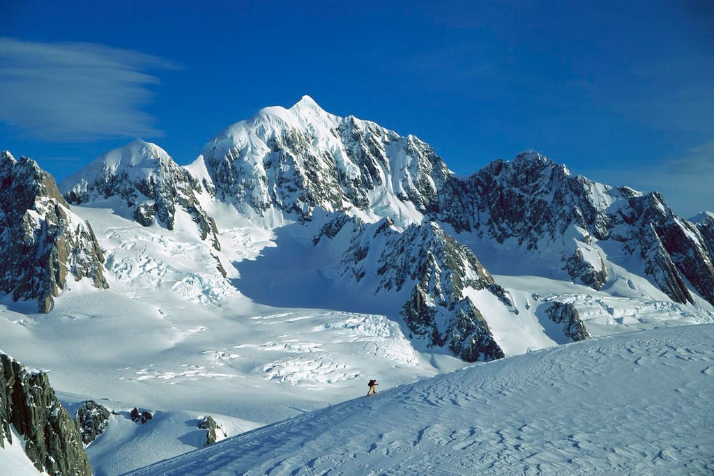 You can climb directly to the famous mountain tops of the French Pyrenees...