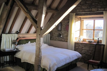 17c Listed Barn in beautiful Cotswold village - Oddington - Bed & Breakfast