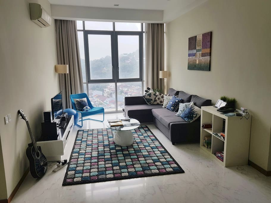 Spacious KL apartment with grand city view